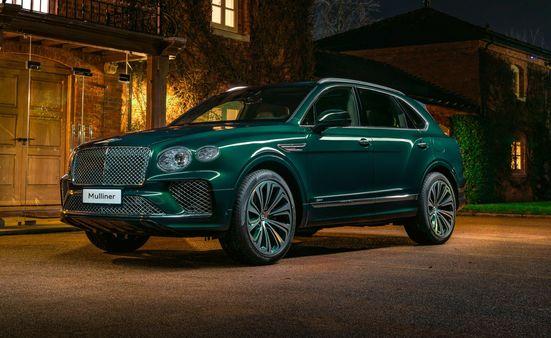 One-off Bentley Bentayga Hybrid