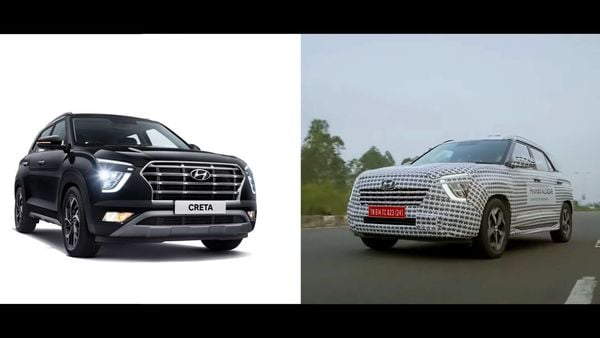 Hyundai Alcazar SUV (right) is broadly based on Creta SUV (left) but is likely to get more premium features.