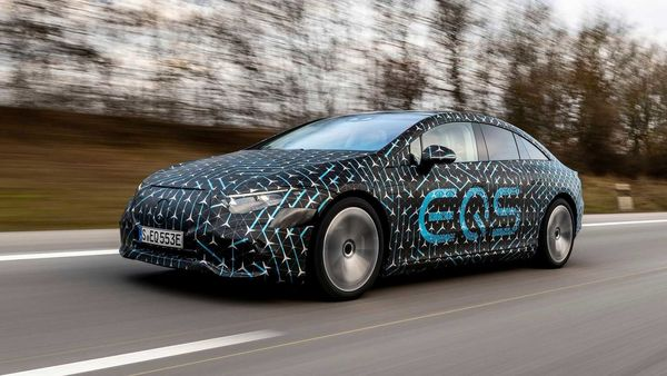 Mercedes-Benz is all set to unveil the EQS electric sedan on April 15.