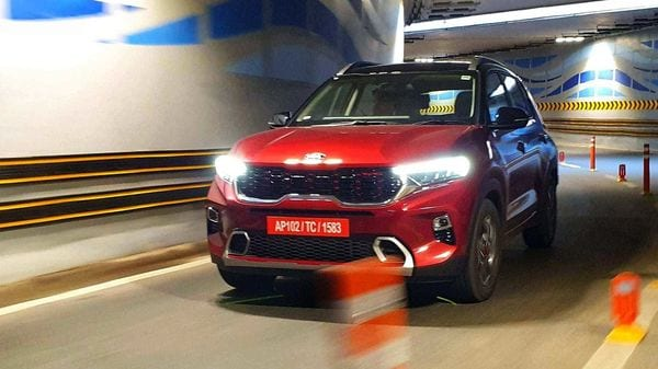 The Kia Sonet is the fourth bestselling SUV in India. (Photo: Sabyasachi Dasgupta)