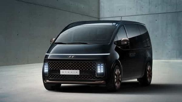 Photo of Hyundai Staria MPV released by the carmaker.