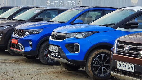 Tata Nexon SUV has toppled Kia Sonet SUV from number three position on the list of top 10 sub-compact SUVs sold in India in March.