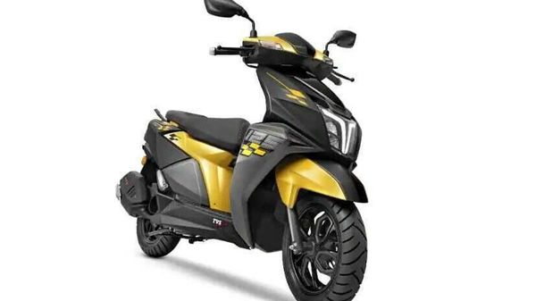 TVS NTorq 125 Race Edition in new black and yellow colour combination
