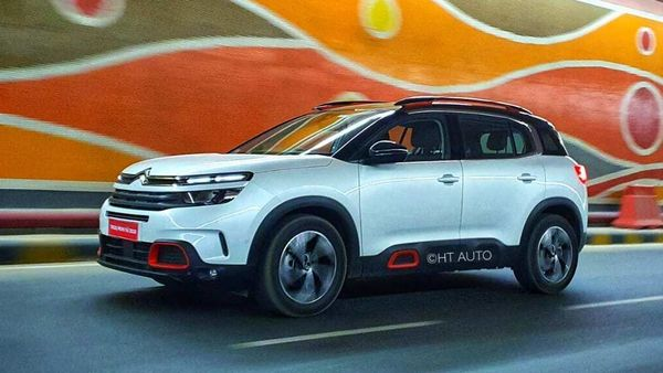 Citroen C5 Aircross is a smart-looking SUV that is sporty yet not imposing in its visual appeal. (HT Auto/Sabyasachi Dasgupta)