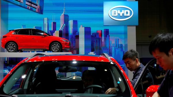 The Blade battery that BYD first announced in March 2020 will address what Chairman Wang Chuanfu believes is the biggest enemy undermining development of the electric-vehicle industry: spontaneous ignition. (REUTERS)