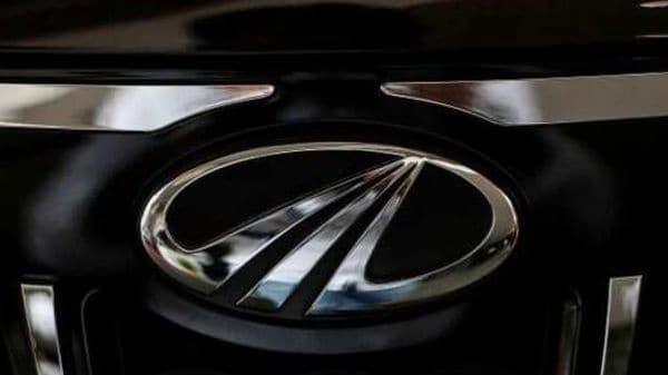 FILE PHOTO: The logo of Mahindra and Mahindra is seen on a car at a showroom in Mumbai, India. (REUTERS)