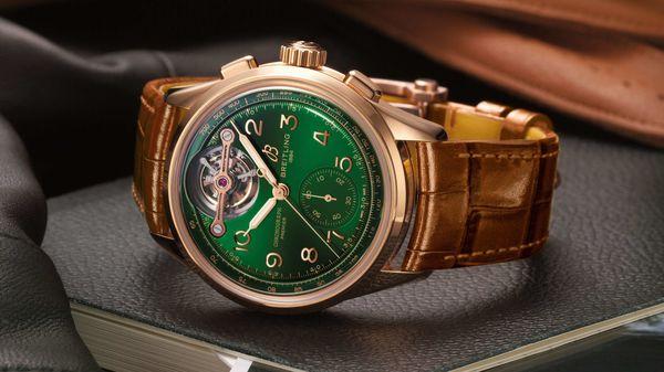Bentley Breitling Tourbillon watch