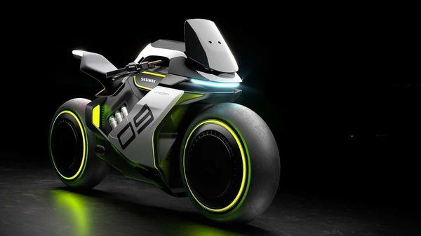 Segway Apex 2 looks like inspired from the Tron Legacy movie.