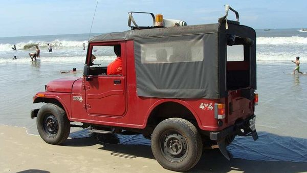 File photo of a life guard vehicle on a Goa beach used here for representational purpose.