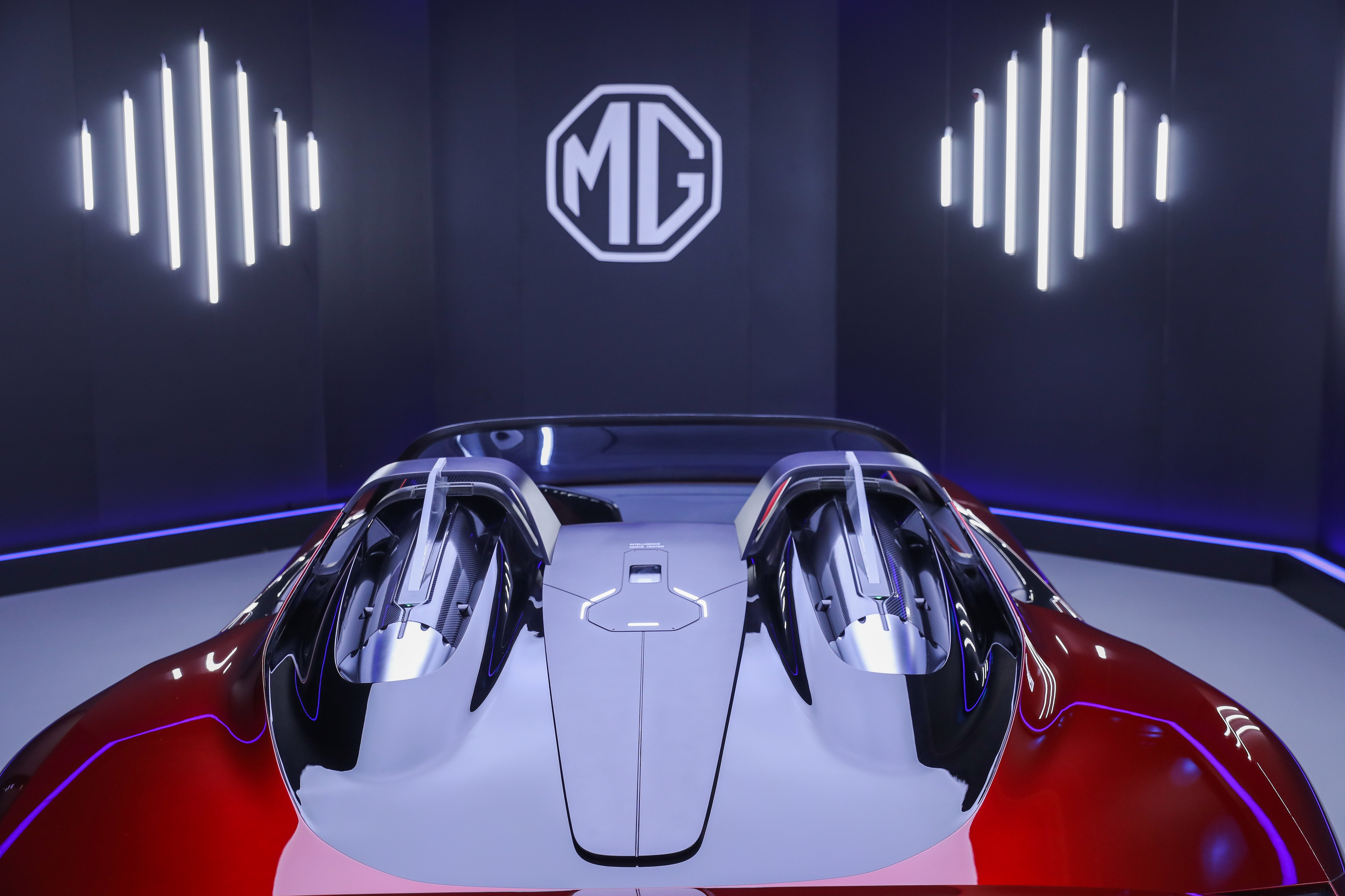 The two-door, two-seater electric sports car is expected hit production lines soon this year.