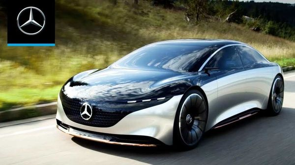 Mercedes-Benz Vision EQS: It will be the first Mercedes built on dedicated electric-car underpinnings.