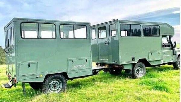 Land Rover Defender 130 Gun Bus. (Photo courtesy: Instagram/Foley Specialist Vehicles Ltd)