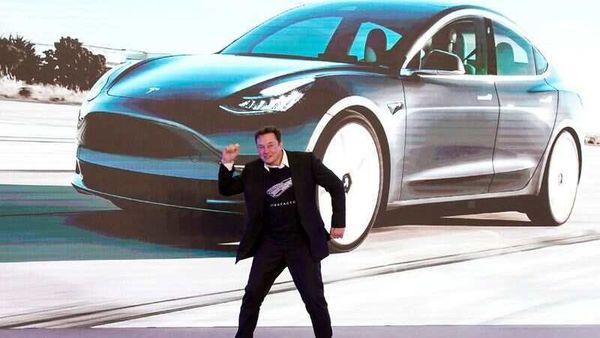 File photo - Tesla CEO Elon Musk dances onstage during a delivery event for Tesla China-made Model 3 cars in Shanghai. (REUTERS)
