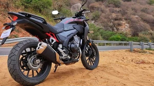 Representational Image of the recently launched Honda CB500X. (Image Credits: HT Auto/Prashant Singh)