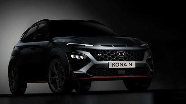 Hyundai will debut its upcoming performance SUV Kona N on April 27.