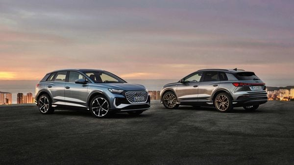 Audi has unveiled the Q4 e-tron and Q4 Sportback e-tron electric SUVs.