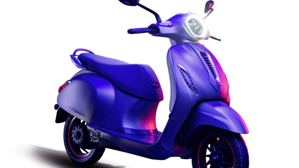 The Bajaj Chetak electric scooter was launched in India in early 2020.
