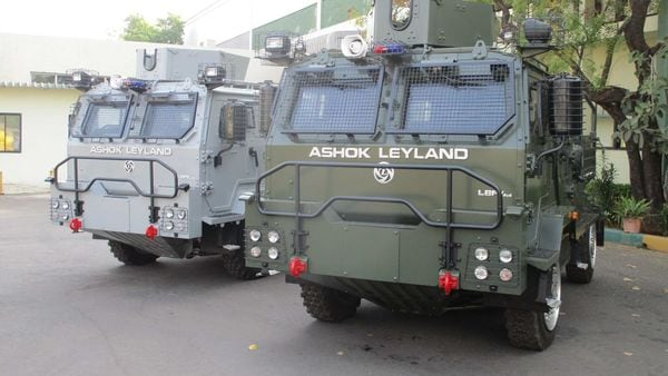 Ashok Leyland has delivered the first batch of light bulletproof vehicles to Indian Air Force.