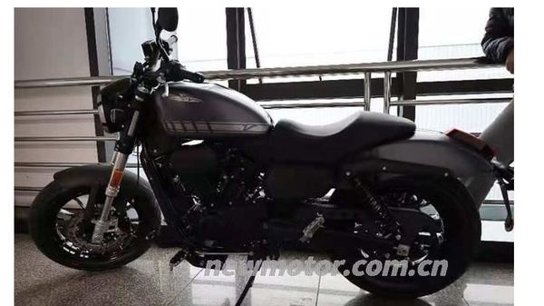 Harley-Davidson's entry-level 300 cc motorcycle that is slated to make its global debut by late-2021. Image Courtesy: Newmotor.com.cn
