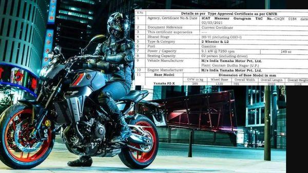 Representational Yamaha MT 07 bike image used.