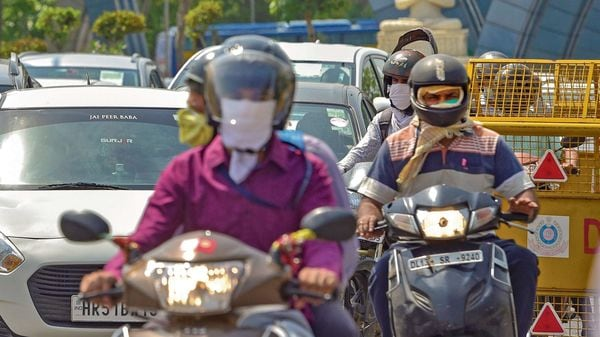 The government has initiated a process to bring helmets under mandatory BIS regime as part of efforts to reduce fatal injuries involving two-wheelers. (File photo) (MINT_PRINT)