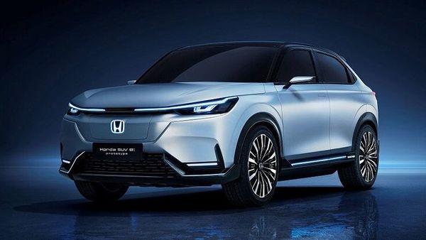 Honda has showcased the SUV e: prototype at Shanghai Auto Show.