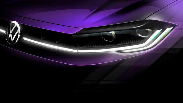 Volkswagen has teased the upcoming Polo hatchback ahead of its global debut on April 22.