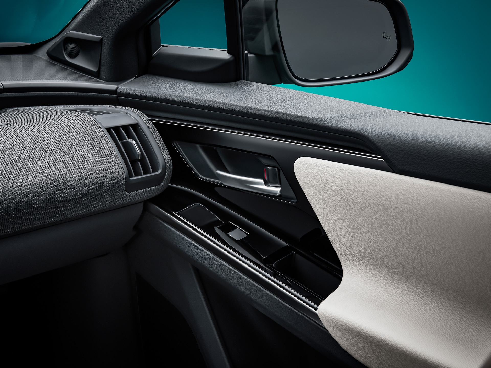 The interior gets premium upholstery material and a dual tone appearance.