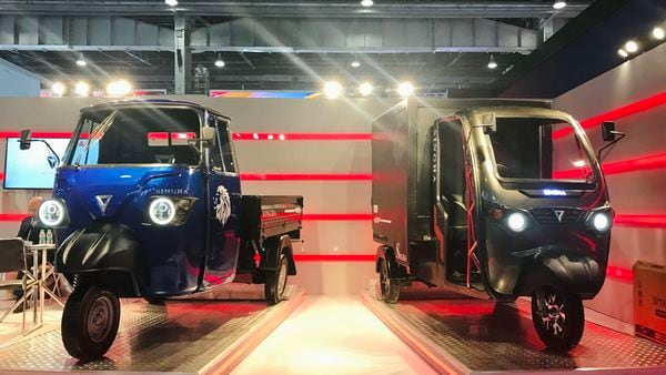 electric cargo three-wheelers from Omega Seiki
