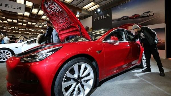 Tesla Model 3 will be the first car from the brand in India. (REUTERS)