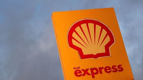 FILE PHOTO: The logo of Royal Dutch Shell is seen at a petrol station (REUTERS)