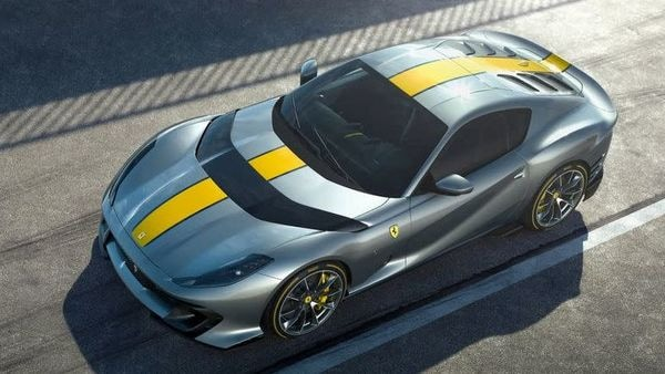 The new supercar is the first of three new models Ferrari has promised for the coming months.