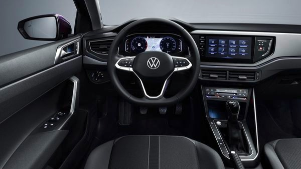 The new Polo hatchback gets a digital cockpit with a large digital cluster, a new infotainment system and a redesigned steering wheel.