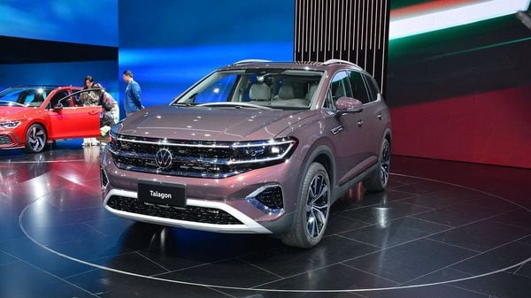 Volkswagen Talagon is the biggest SUV from the German automaker, unveiled at the 2021 Shanghai Auto Show. (Image: AutoSina)