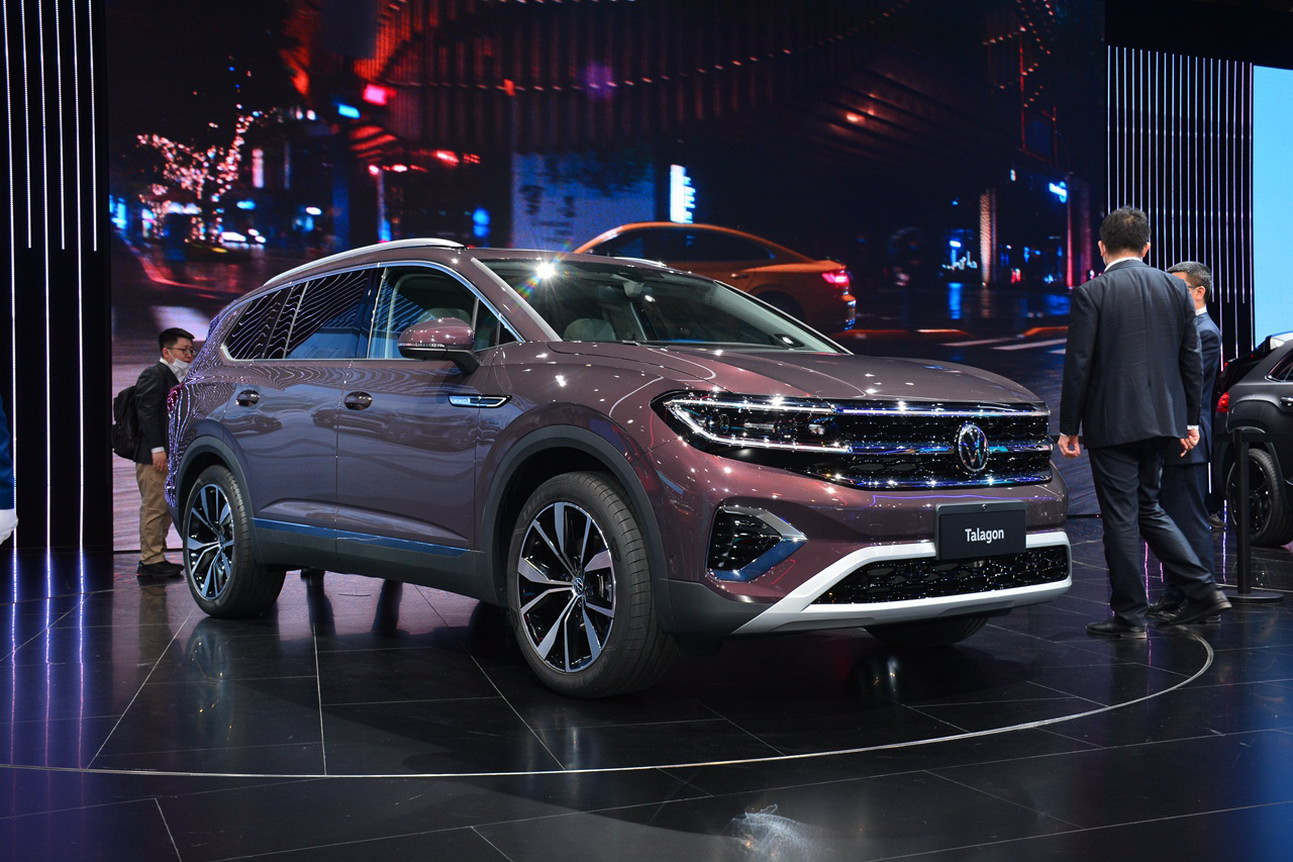 Underpinned by the Volkswagen MQB architecture, the Talagon SUV is based on the SMV concept model. (Image: AutoSina)