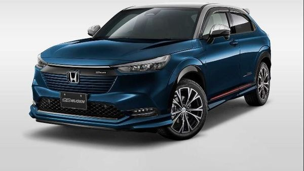 This modified Honda HR-V looks very sporty because of its visual upgrades. (Photo: Mugen)