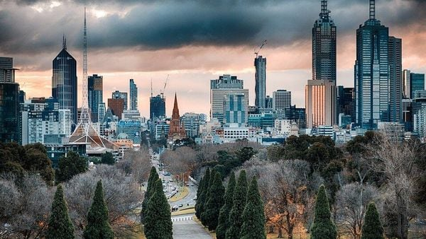 File photo of Melbourne skyline used for representational purpose.