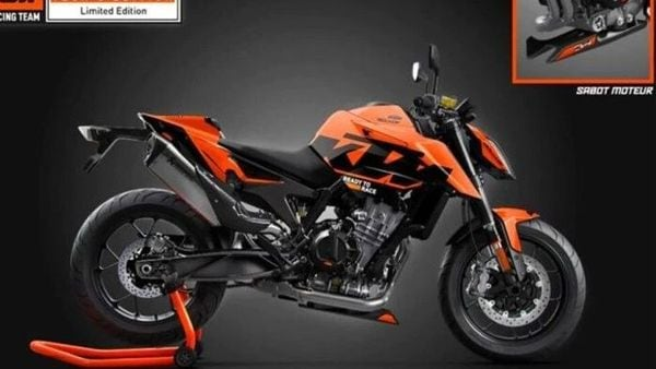 The limited edition KTM 890 Duke costs 11,690 Euros (approx. ₹10.57 lakh) in France.