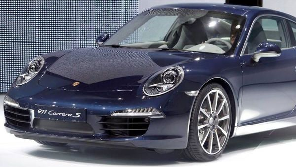 The new Porsche Carrera 911 S