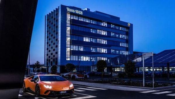 The office building of Lamborghini with Leed Platinum Certification (Picture credit: Lamborghini)