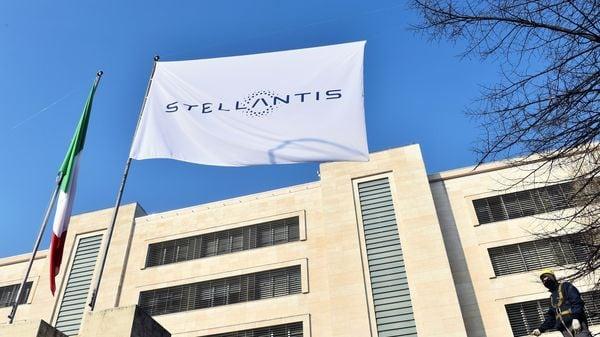 Stellantis logo (Picture credit: Reuters)