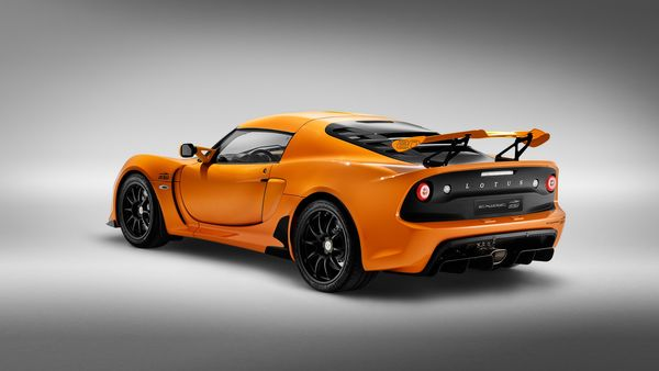 Representational Image: Rear of the Lotus Exige Sport 410 20th Anniversary edition