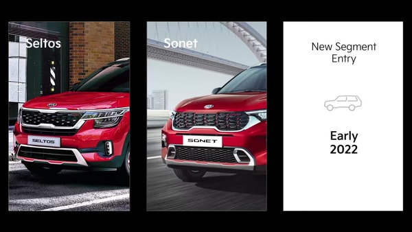 Kia to launch updated Seltos and Sonet SUVs in India next month.