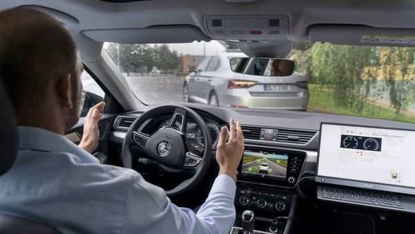 Skoda' self-driving technology testing (File photo used for representational purpose only)