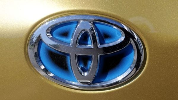 The logo of Toyota (REUTERS)