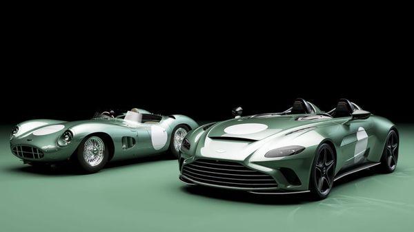 Aston Martin V12 Speedster with DBR1 specification