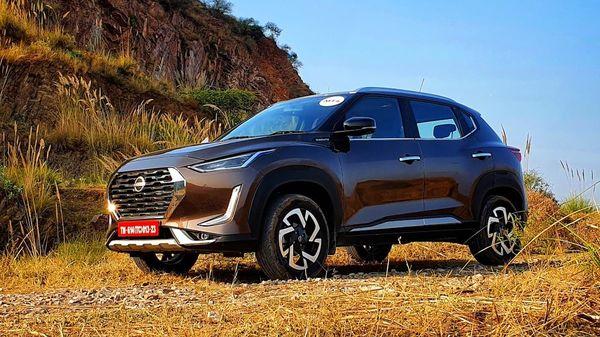 Nissan Magnite SUV was launched with on December 2 last year. (HT Auto/Sabyasachi Dasgupta)