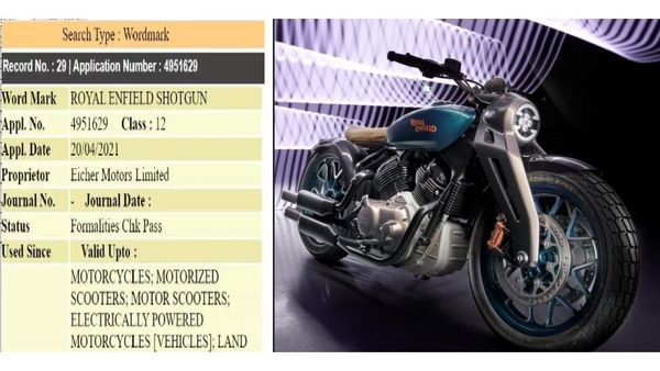 The Shotgun name could be reserved for the upcoming 650 cc bike from Royal Enfield.