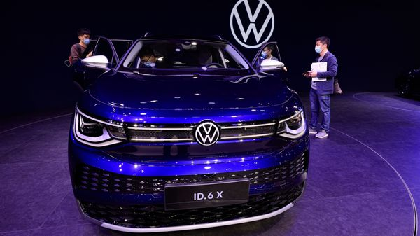 Volkswagen has taken an ambitious plan to introduce a large fleet of electric vehicles through its multiple brands such as VW, Skoda, Audi, etc. (AP)