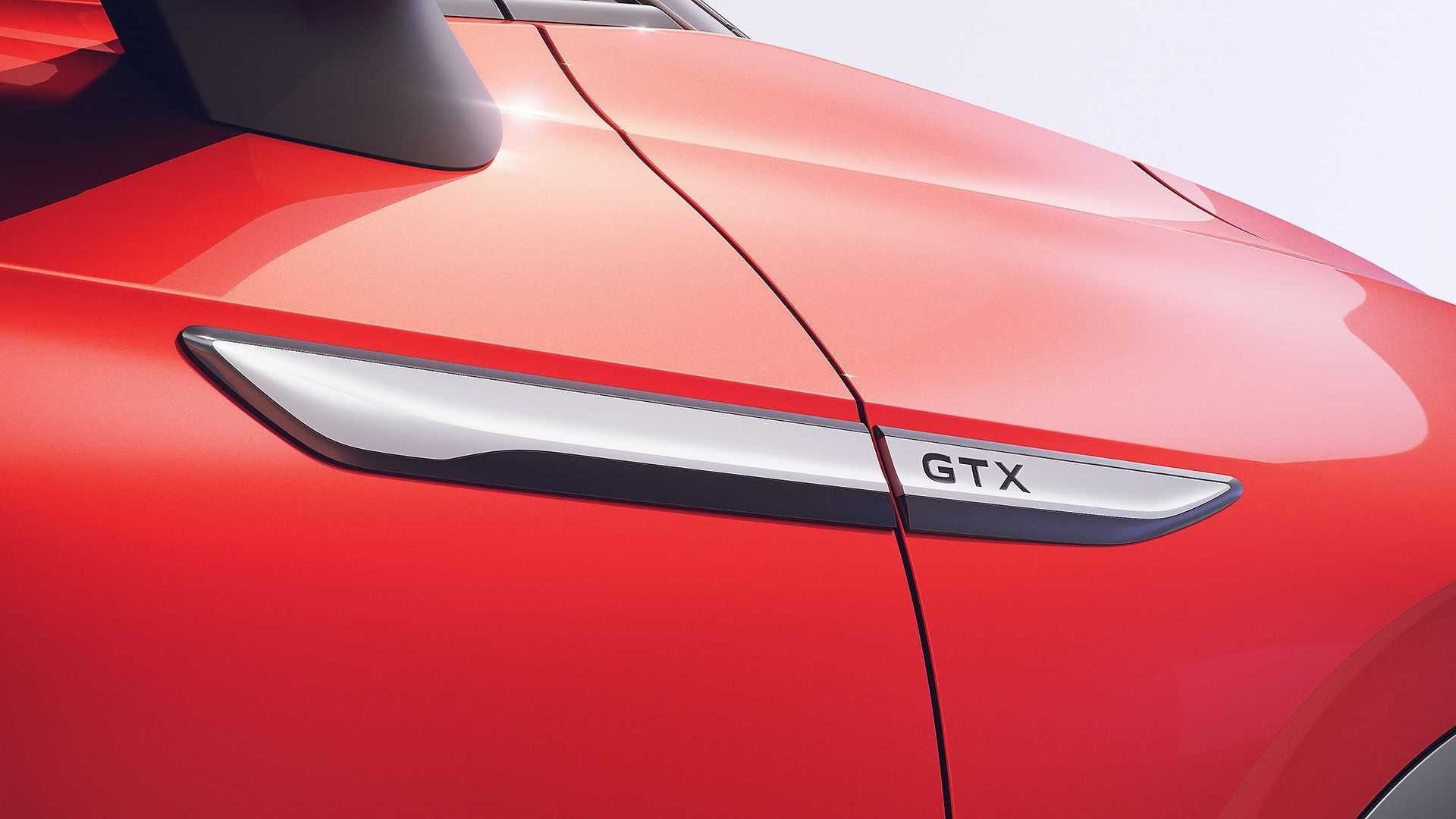 To make it distinctive, the VW ID.4 GTX gets a host of GTX badging at different places across exterior.